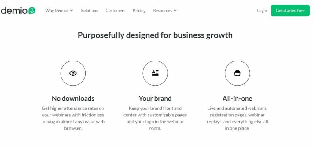 Demio Pricing - Demio webinar Review 2020 Complete Guide