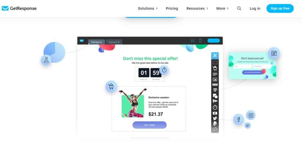 Getresponse Pricing - Getresponse Webinar Review Ultimate Guide 2020
