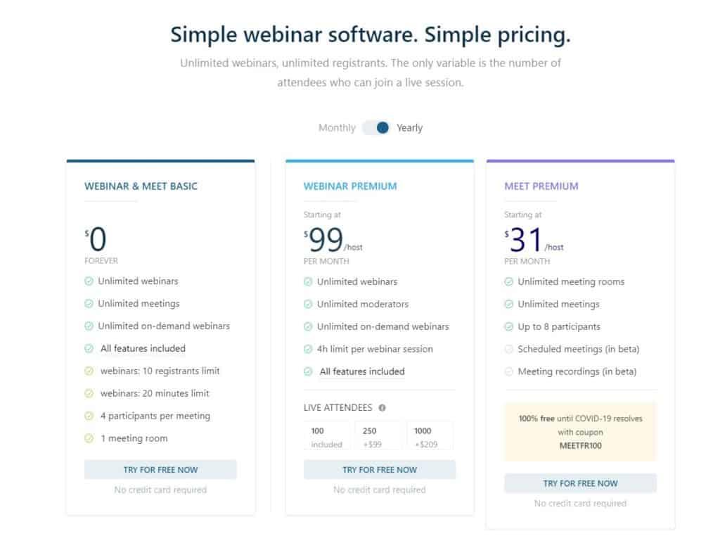 Livestorm Reviews - Livestorm Pricing 2020 Complete Guide