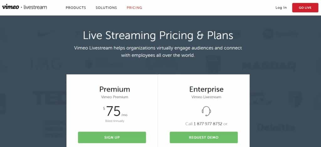How Much Does Live Streaming Cost - Private Streaming Services Vimeo Review 2020